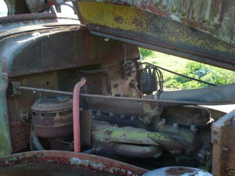 Original engine still has the proper aircleaner and updraft carb