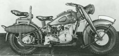 My favourite, the Elephant- BMW R-75, but we have restored many oddities from both sides of the pond.